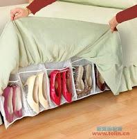 sapatos cama